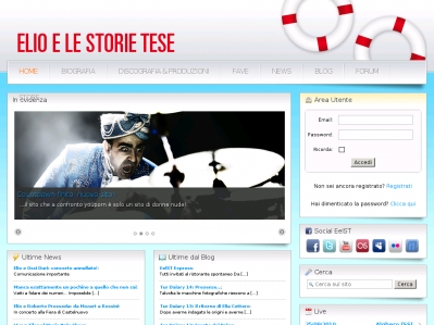 Il nuovo sito di Elio e le Storie Tese